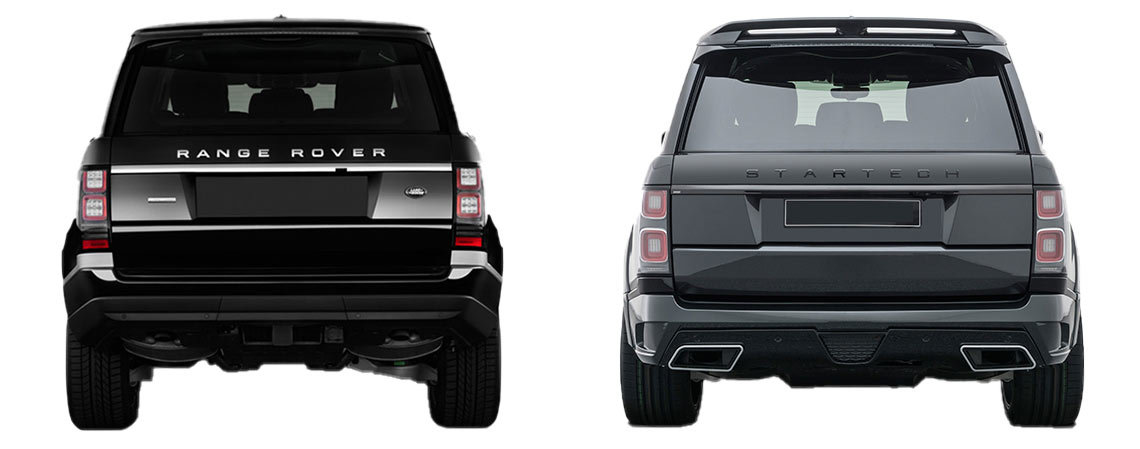 Задние фонари Range Rover 2018 г. Установка на дорестайлинговую модель.