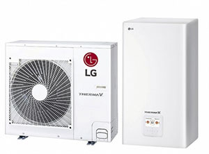 LG презентовала систему ГВС Therma V R32 Split