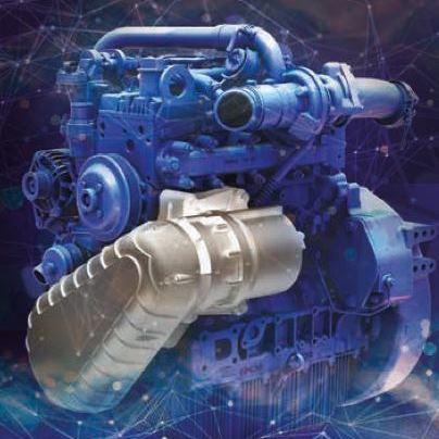 3 новые гибридные технологии для двигателей Perkins