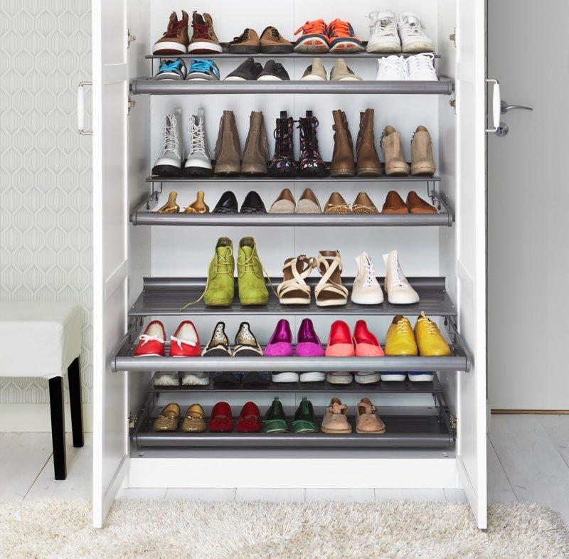 Повседневное и сезонное хранение обуви - 2
