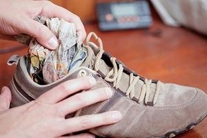 Рекомендации по сушке обуви