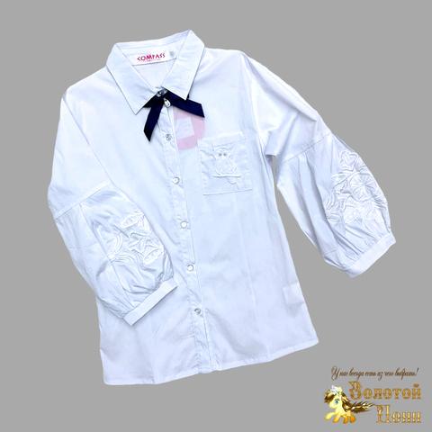 Блузы школьные девочкам Фабричный Китай