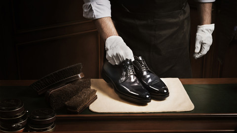 Чистка обуви - 2