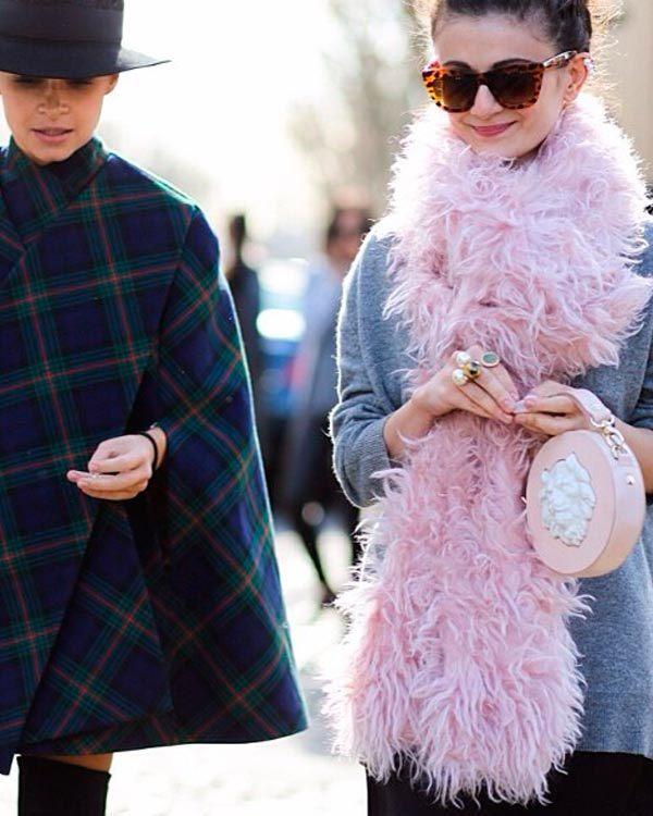 Street Style: Наталья Алавердян и её сумочка от ANDRES GALLARDO