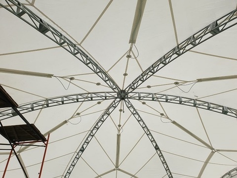 Крыши и тенты для шатров