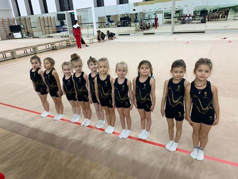 Тренировочная форма для юных спортсменок Центра гимнастики Ирины Винер-Усмановой