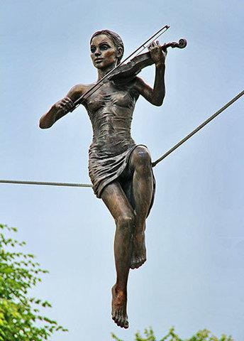 Відкриття скульптури «Висока нота»