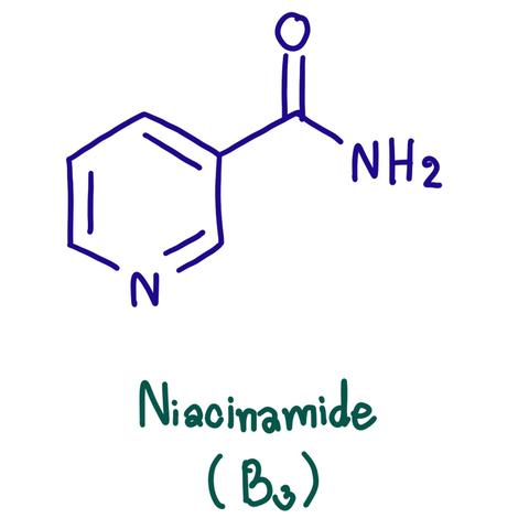 Ниацинамид, он же Витамин В3 (никотиновая кислота)
