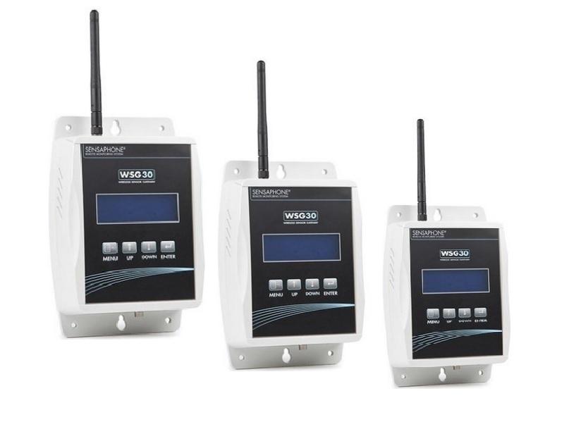 Компания Sensaphone развернула рекламу беспроводной системы слежения WSG30