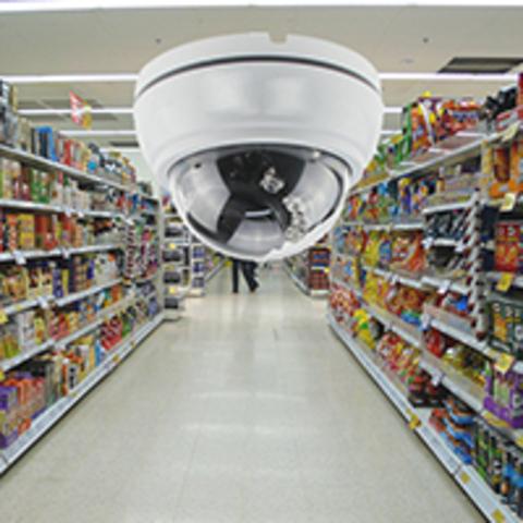 Видеонаблюдение в магазине