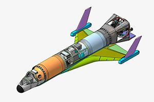 Готов проект многоразовой беспилотной ракеты