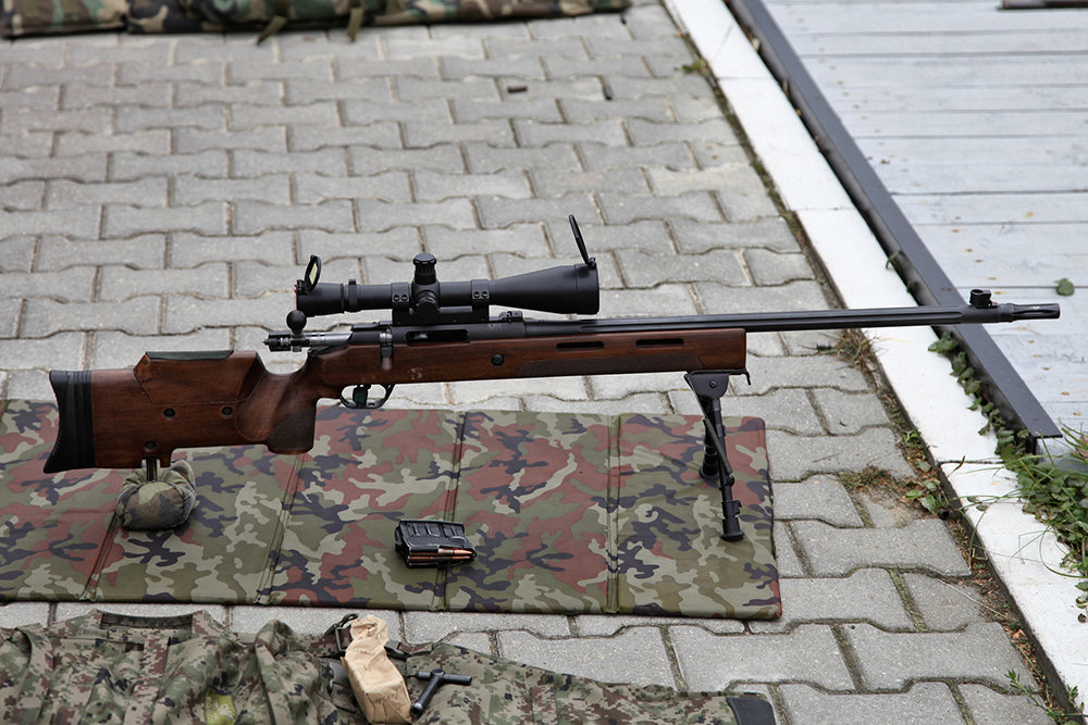 Создана бесшумная винтовка для снайперов