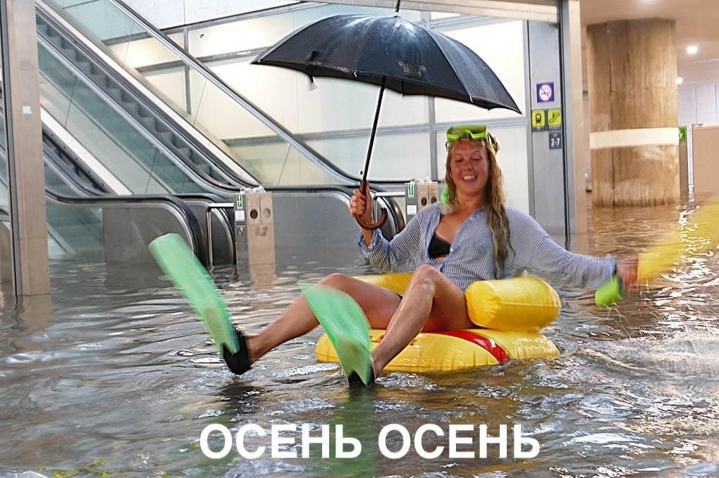 Защищайся от дождя правильно⛈