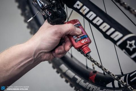Как правильно смазывать велосипедную цепь