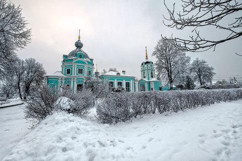 Храм Архангела Михаила в подмосковном селе Летово