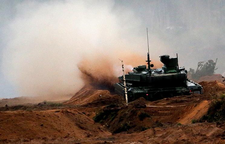 Танк Т-90М - прорыв в танковых войсках