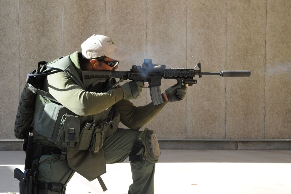 Стартовал выпуск американской винтовки  AR-15