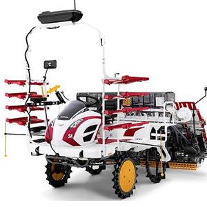 Создан робот для обработки рисовых плантаций