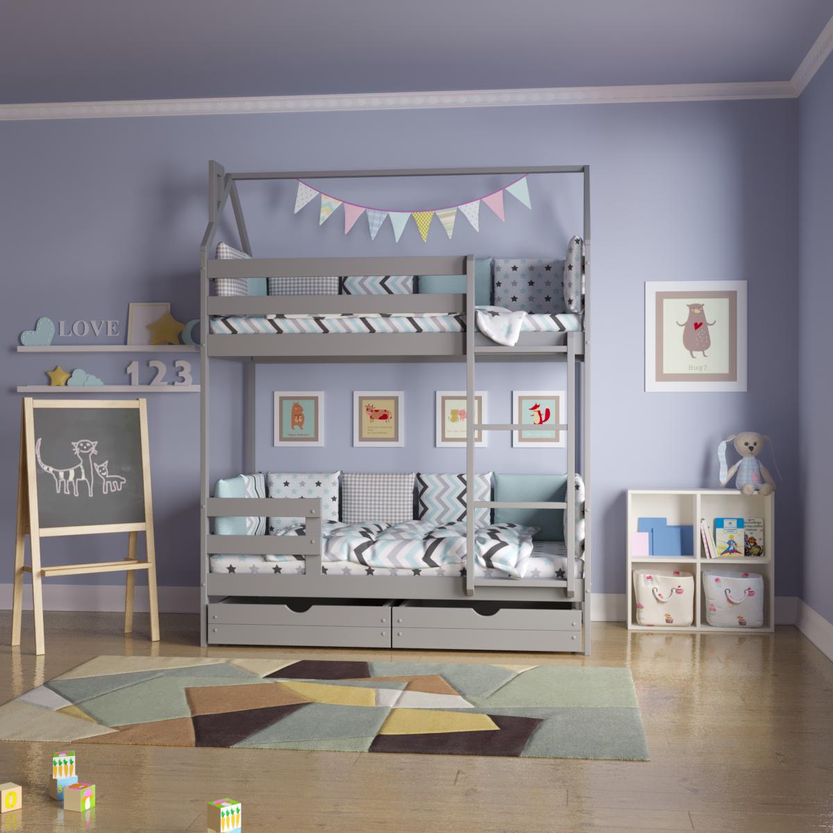 Почему кроватка-домик очень популярна у детей и взрослых?