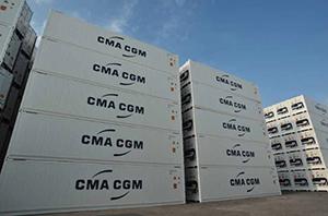 DAIKIN оборудовала фруктовые контейнеры CMA CGM климатической системой