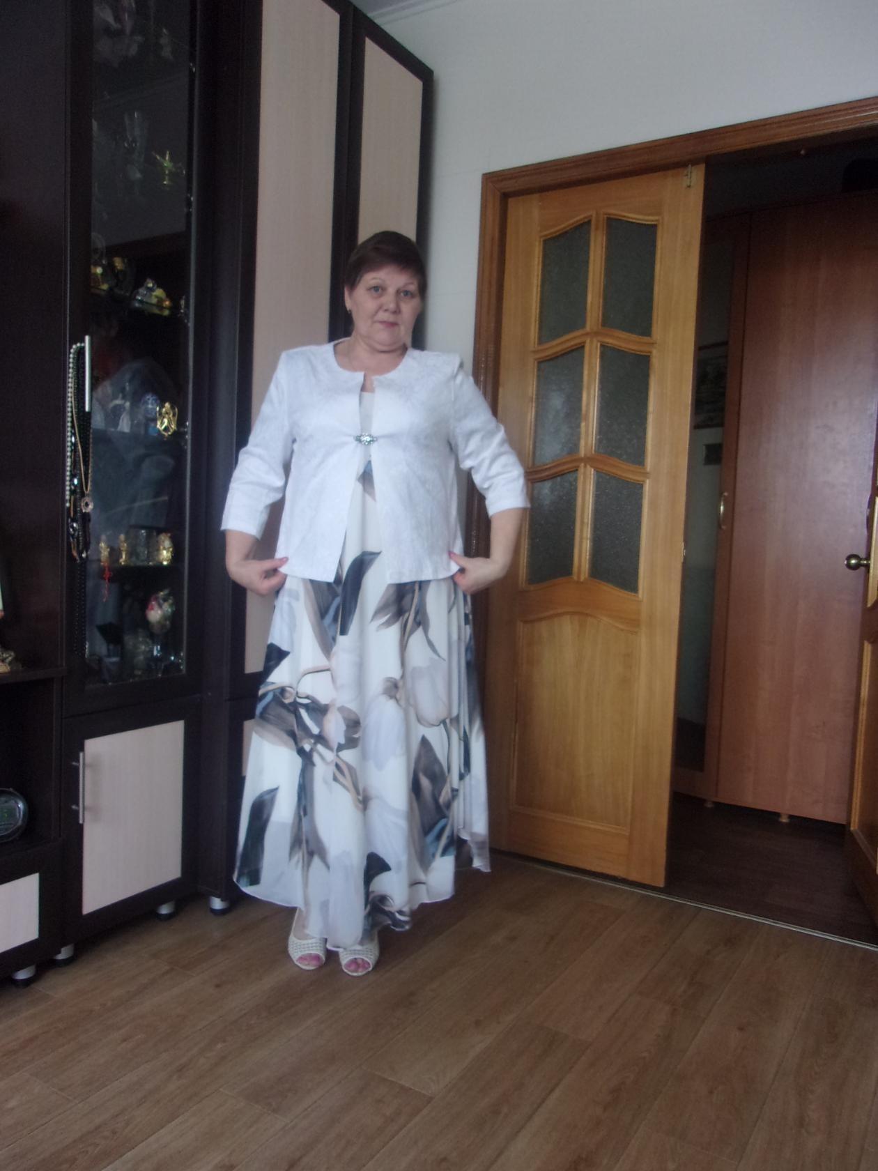 Отзыв о болеро 5693 и платье (нет на сайте)