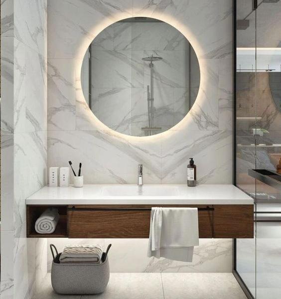 Советы по очистке ванной комнаты из натурального камня