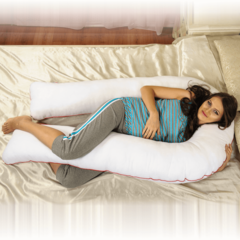 12 причин купить подушку для беременных в форме подковы.