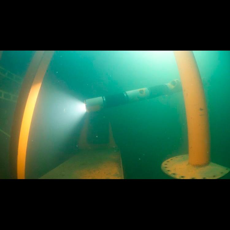 Роботизированная «змея» готова к подводному заплыву