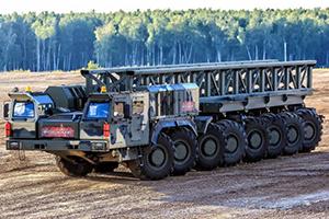 Ракетный тягач «Платформа» для транспортировки ракет