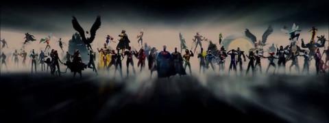 Обновленная заставка фильмов DC. Сравнение интро