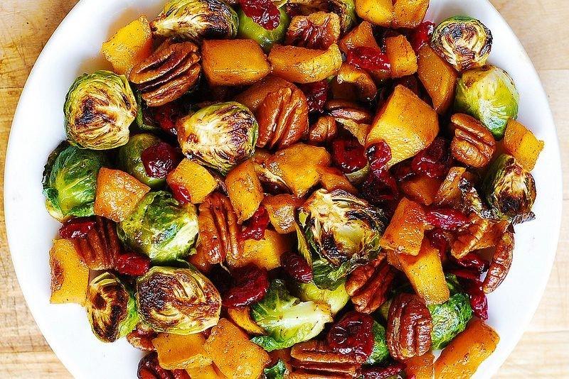 Копченые овощи и фрукты