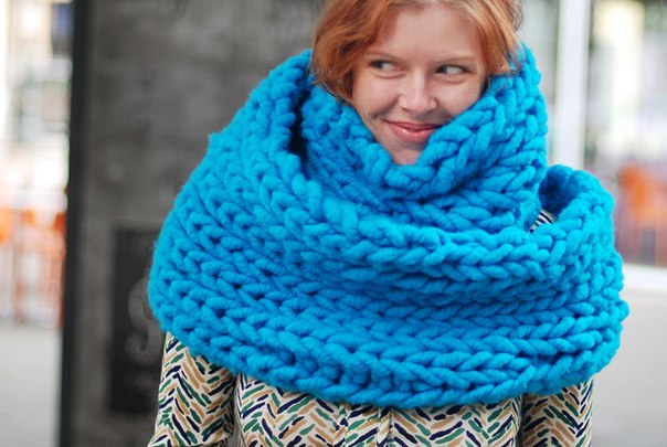 Материалы в производстве шарфов и шапок