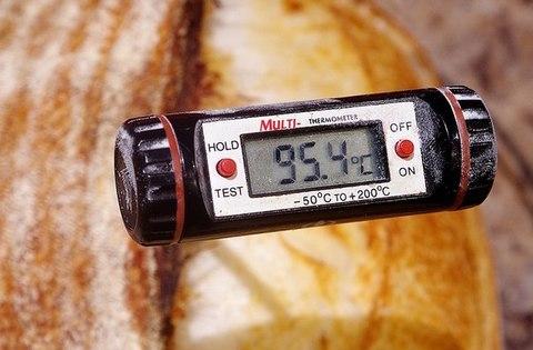 Как определить готовность хлеба