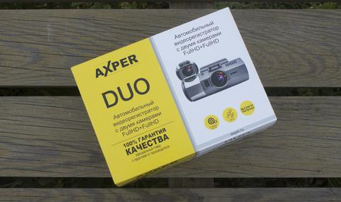 Видеорегистратор Axper Duo: Обзор