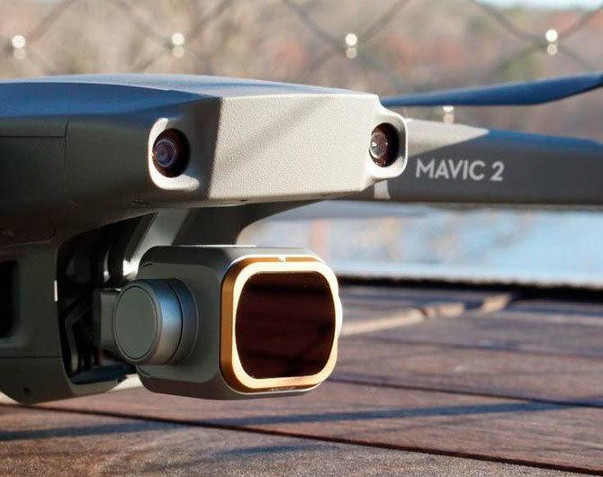 Обзор: набор фильтров PolarPro DJI Mavic2 Pro Cinema Series