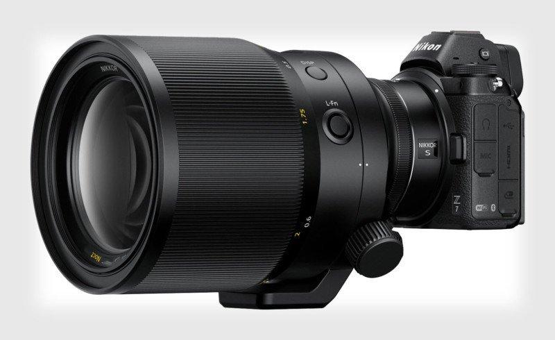 Nikon Z поддерживает автофокусные объективы до f/0.65