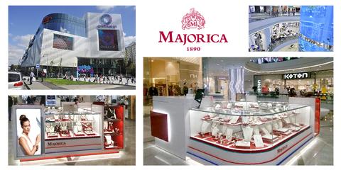 Фирменный бутик Majorica теперь и в Москве