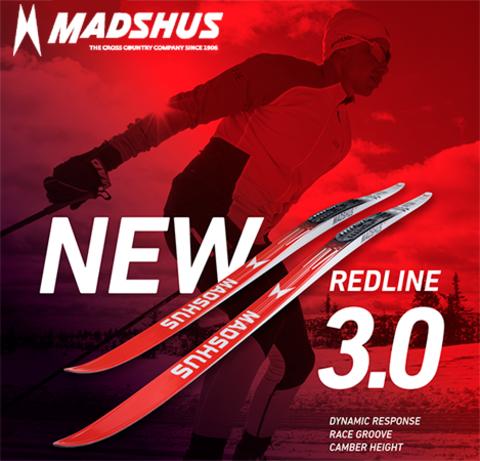 В магазине Skimir стартовал предзаказ спортцеховых лыж MADSHUS Redline.3.0 2020/2021 НОВИНКА!!!