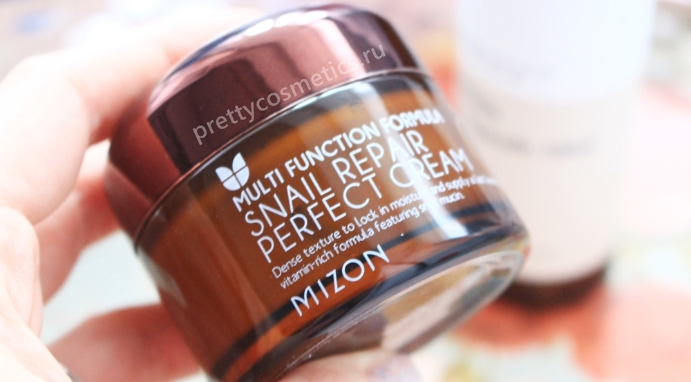 Корейский хит - Mizon Snail Repair Perfect Cream