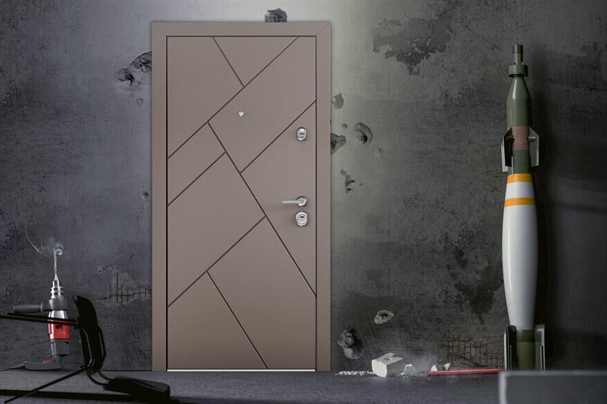 Новая серия входных дверей Ultimatum M