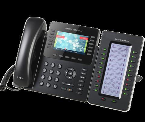 Grandstream выпускает 12-линейный HD IP-телефон корпоративного уровня
