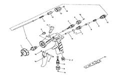 Iwata - схемы аэрографов с артикулами запчастей