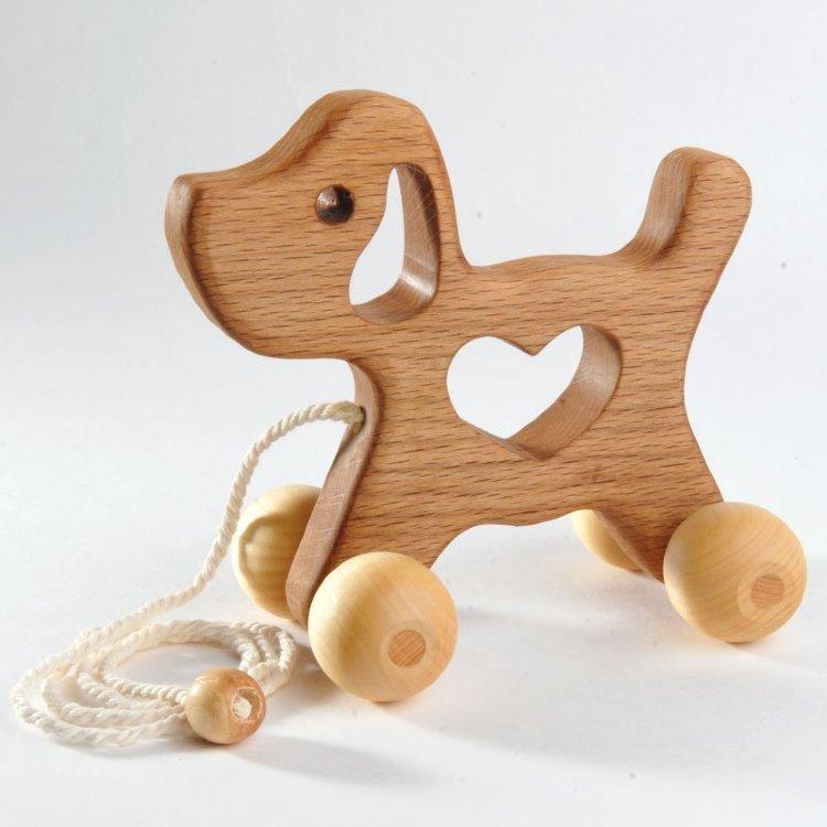 Плюсы деревянных игрушек