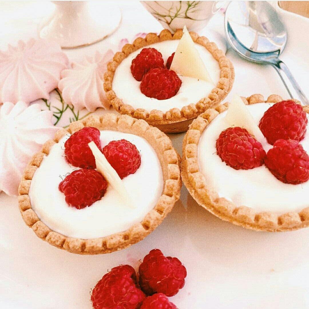Французские десертные тарталетки