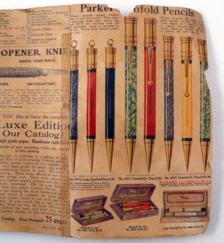 Какими бывают коллекционные ручки Parker?