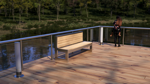 PARK and ALLEY – new series of benches for public spaces