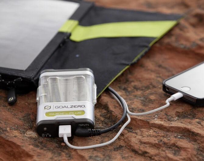 Зарядное устройство Goal Zero Guide 10 Plus. С энергией по жизни.