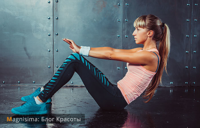 Как быстро накачать пресс девушке. 4 главных упражнения