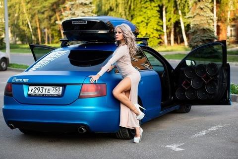 Выравнивание подвески на Audi A6 весом 4 тонны