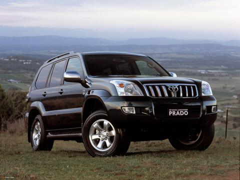 Усиление подвески Toyota Land Cruiser Prado 120